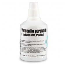 vandenilio peroksidas